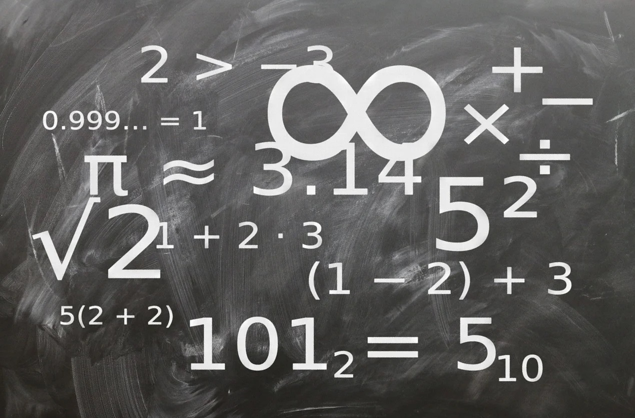 Rational numbers, irrational numbers and integers